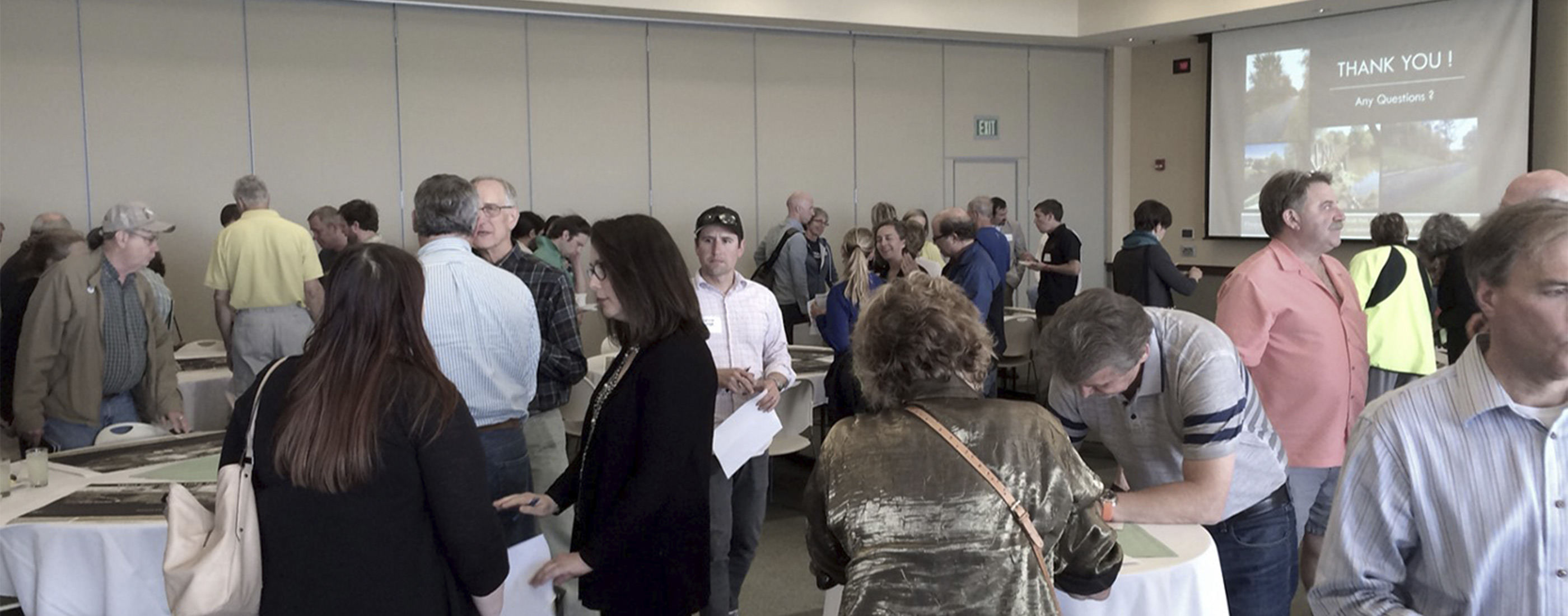 Public engagement gathering input from residents and other groups interested in Grand Traverse corridors.