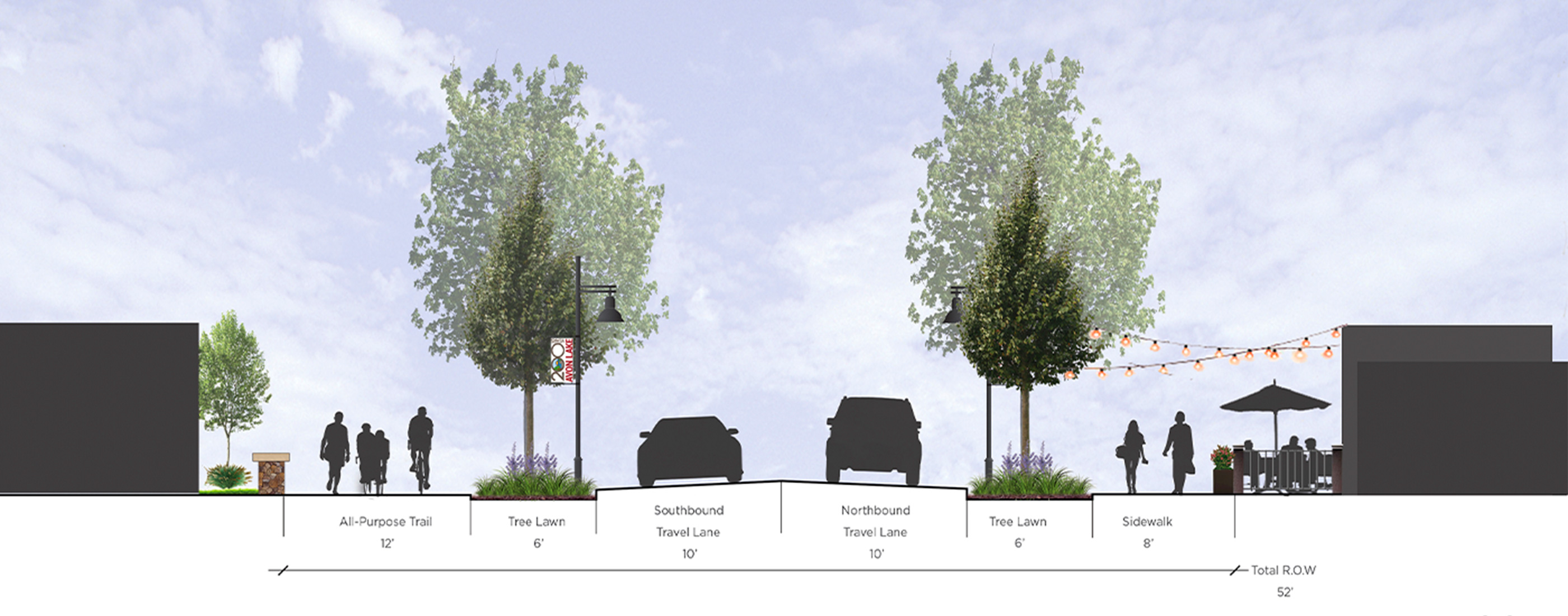 Proposed updates to Lear Street in the City of Avon Lake, Ohio.