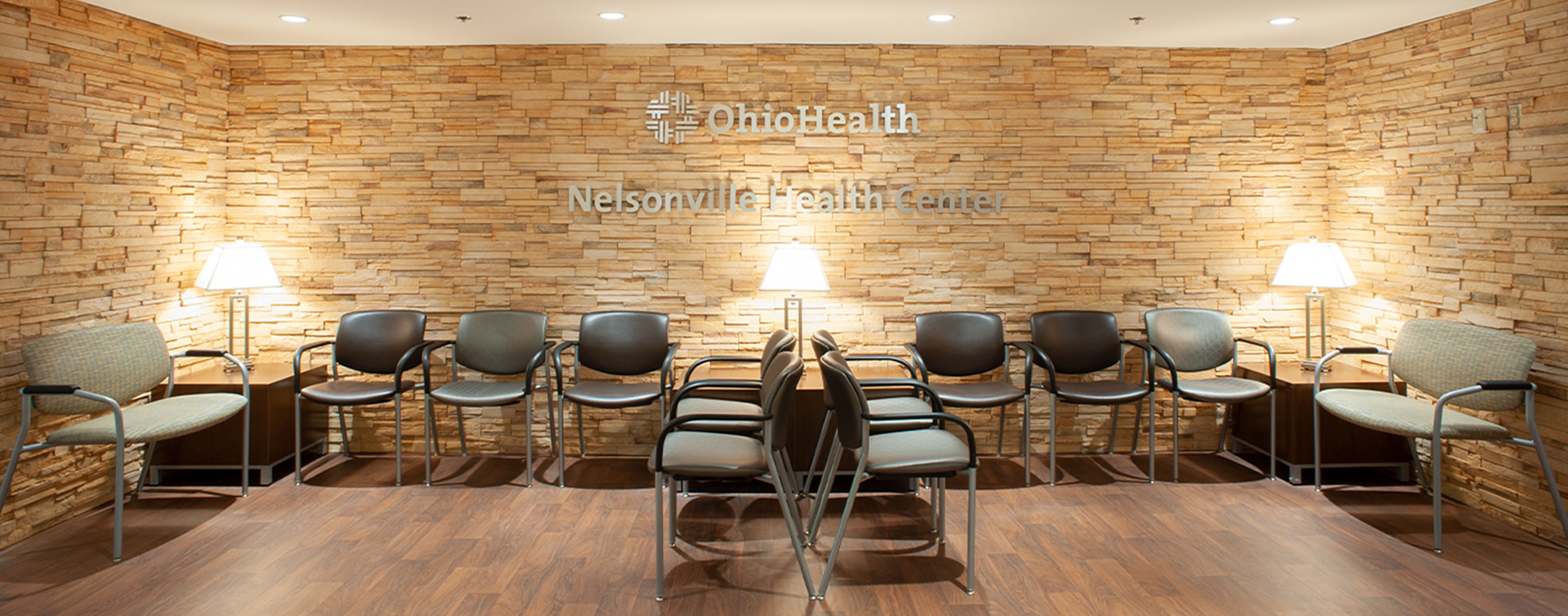 The OhioHealth Nelsonville Health Center was designed with local Star Brick.