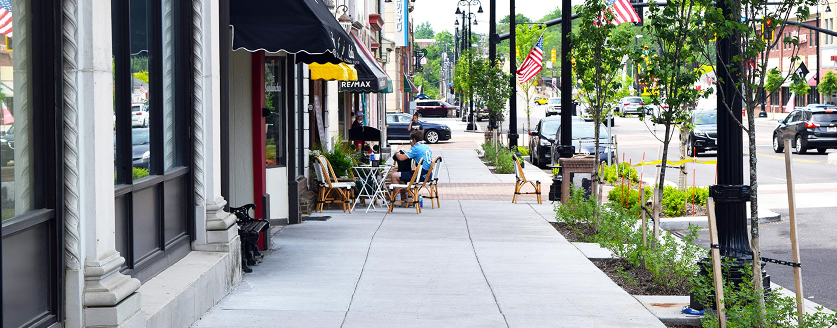 Sidewalk 1 of Massillon streetscape