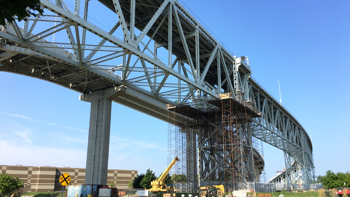 Rehabilitation of the Blue Water Bridge in Port Huron, MI