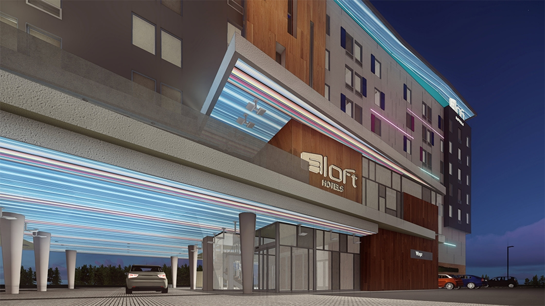 Our newly designed Aloft hotel in Columbus, Ohio is set to open this fall.