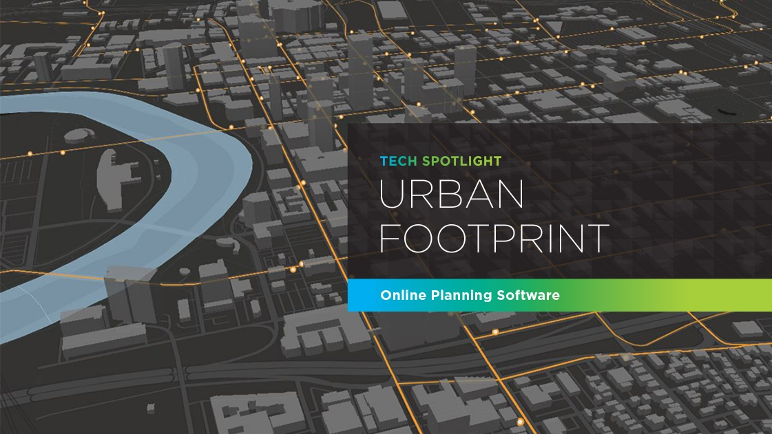 Urban Footprint - an online urban planning software.