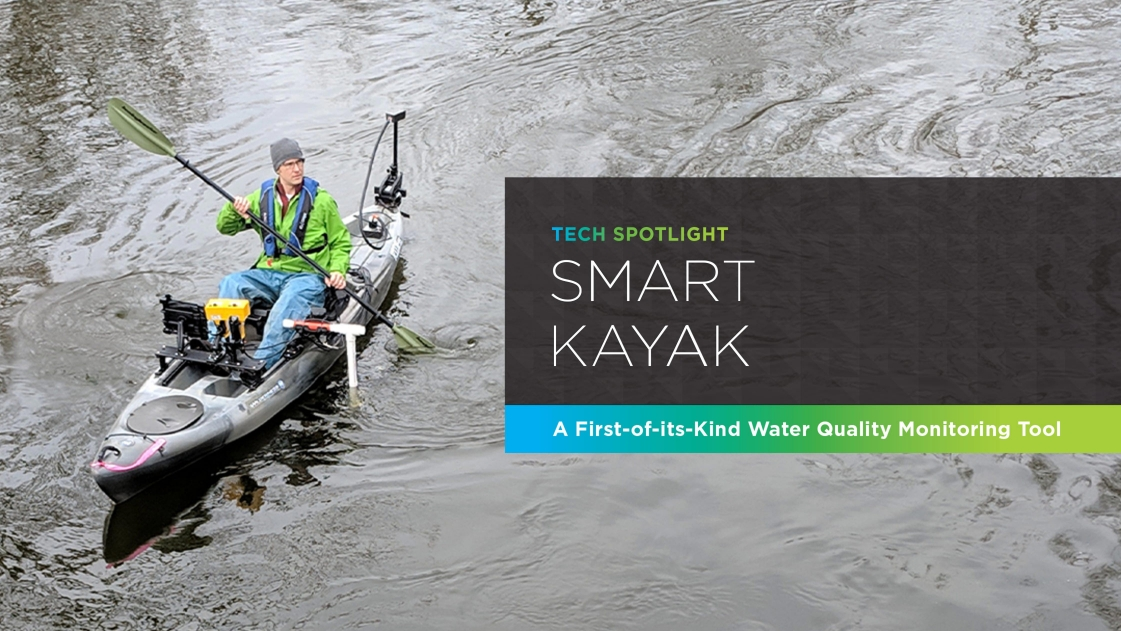 Smart Kayak: a first-of-its-kind water quality monitoring tool.