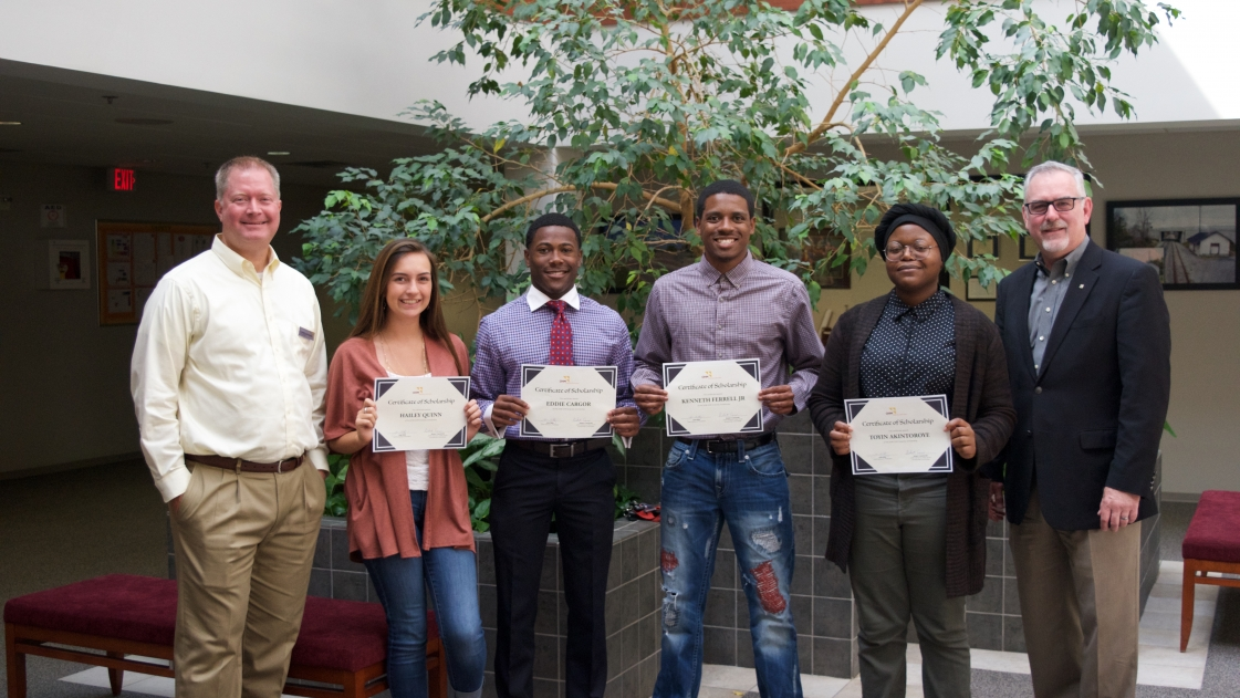 OHM Diversity Scholarships recognized for 2018-2019 academic year.