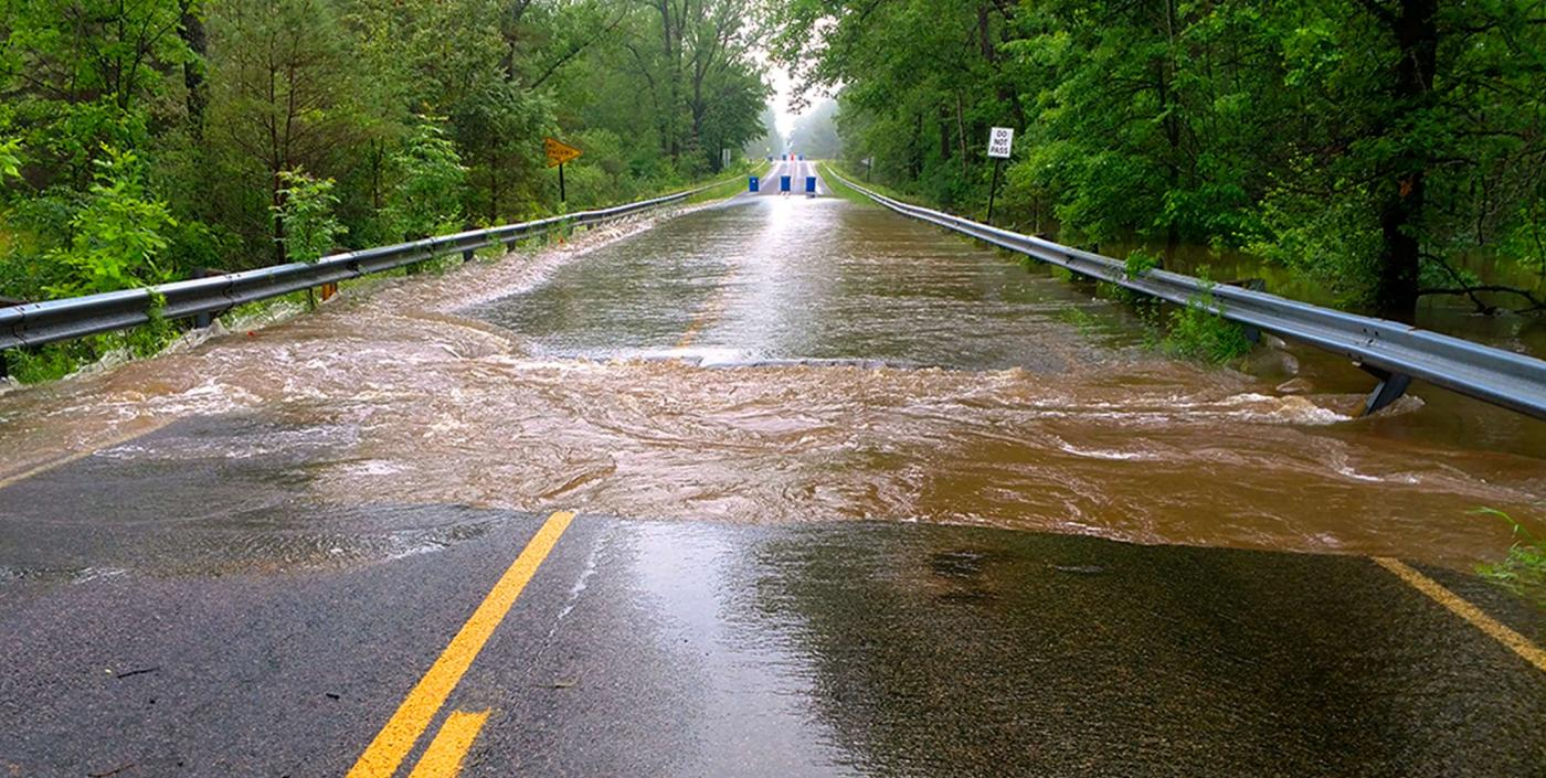 Midland County Road Commission Flood Water