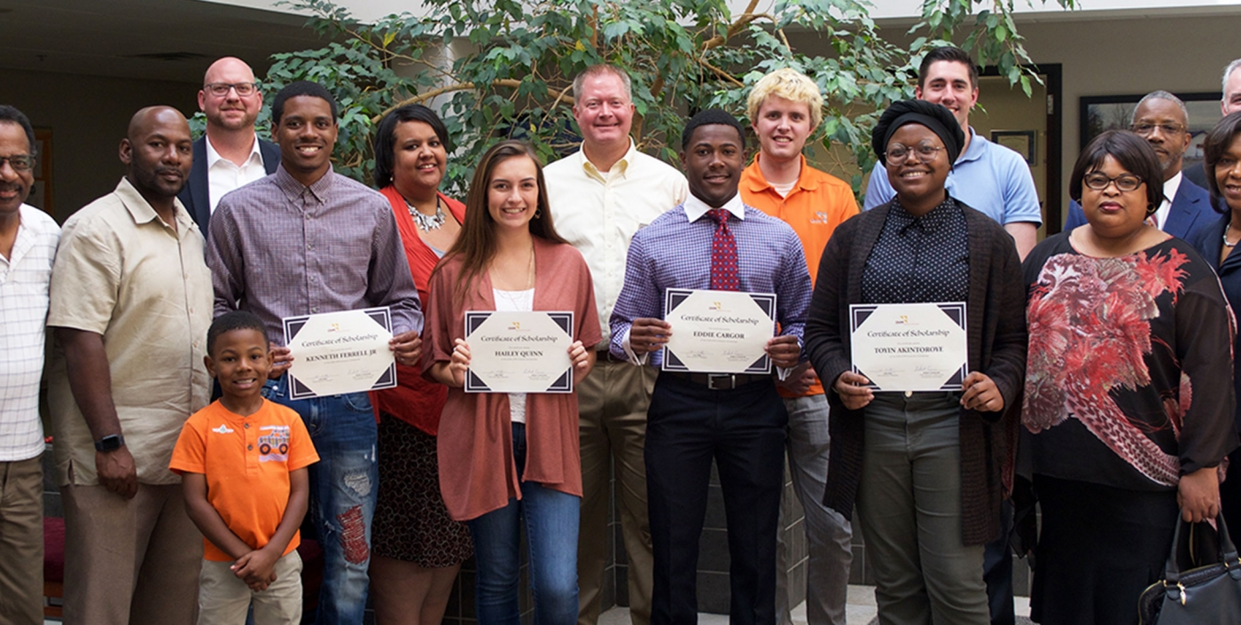 Our scholarship winners are part of our commitment to the academic success of women and minorities.