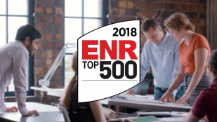 OHM Advisors ranked #274 on Engineering News-Record Magazine's 2018 Top 500 Design Firms list