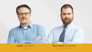 OHM Advisors welcomes architects John E. Calhoun, Jr. and Matthew Edwards to the Nashville team.
