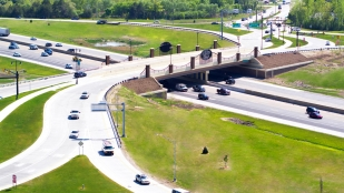 Michigan's Diverging Diamond Interchange