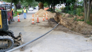 Trenchless technology street image