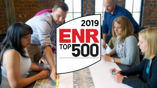 OHM Advisors advances 23 spots on ENR's Top 500 List.