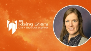 Lambrina Tercala is a 2019 Rising Star in Civil Engineering