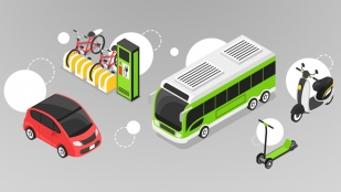 New types of multi-modal transportation are changing America's transportation needs.