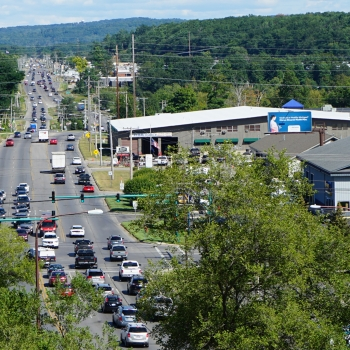 Transportation improvements along Grand Traverse County corridors alleviate congestion, improve safety.