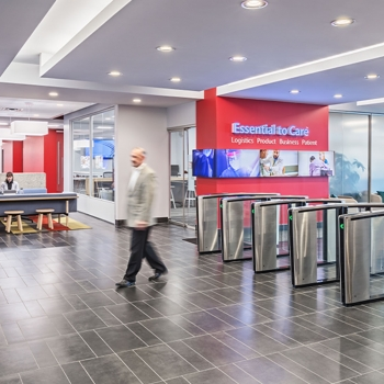 Cardinal Health South Campus interior entrance shot