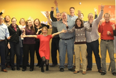 OHM Advisors staff attend professional development event in Livonia, Michigan