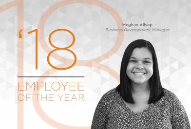 OHM Advisors' 2018 Employee of the Year Meghan Allsop