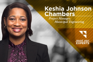 Keshia Johnson Chambers, Project Manager, Municipal Engineering