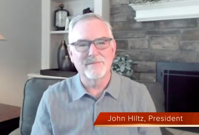John Hiltz addresses clients in COVID-19 focused video message