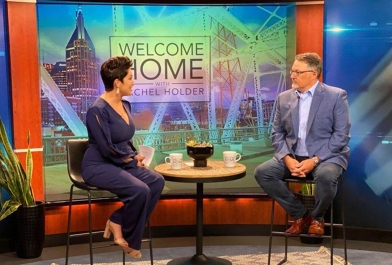 Principal Architect John Calhoun talks design trends with Rachel Holder in Tennessee.