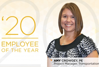Amy Crowgey 2020 Employee of the Year