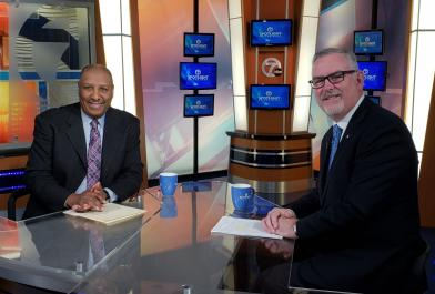 John Hiltz featured on WXYZ for Infrastructure Talk