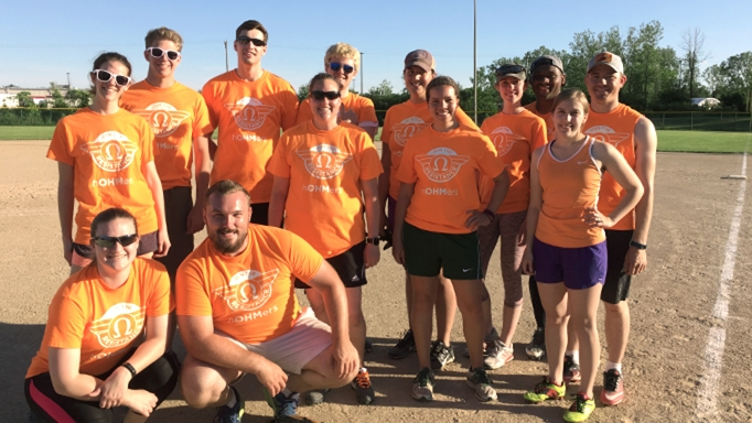 Our team members are serious about fun, including our Livonia softball team.